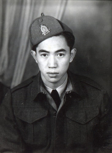 Neill Chan during his training in 1944