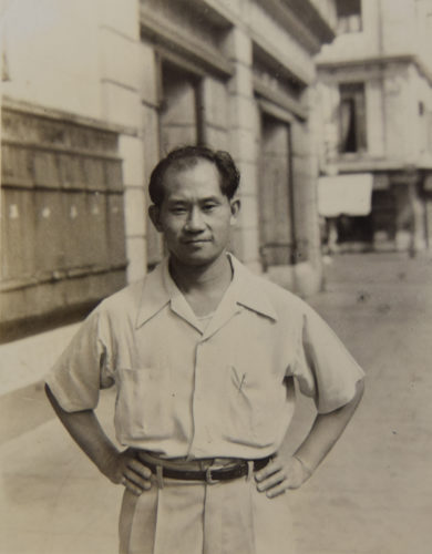 Bill Chong (BAAG Agent 50) in Asia 1943.