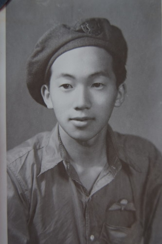 Henry Fung - Force 136: was the first and youngest Chinese Canadian to be parachuted behind Japanese lines.