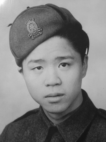 Alex Louie WWII portrait