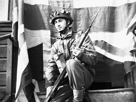 Private Richard Mar of the 1st Canadian Parachute Battalion (1944)